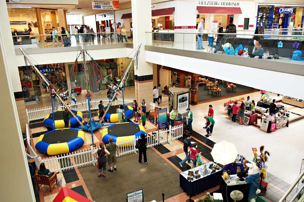 Northwoods Mall is located in Peoria, Illinois and offers 61 stores - Scroll down for Northwoods Mall shopping information: store list (directory), locations, mall hours, contact and address. Address and locations: W War Memorial Dr, Peoria, Illinois - IL - /5(1).
