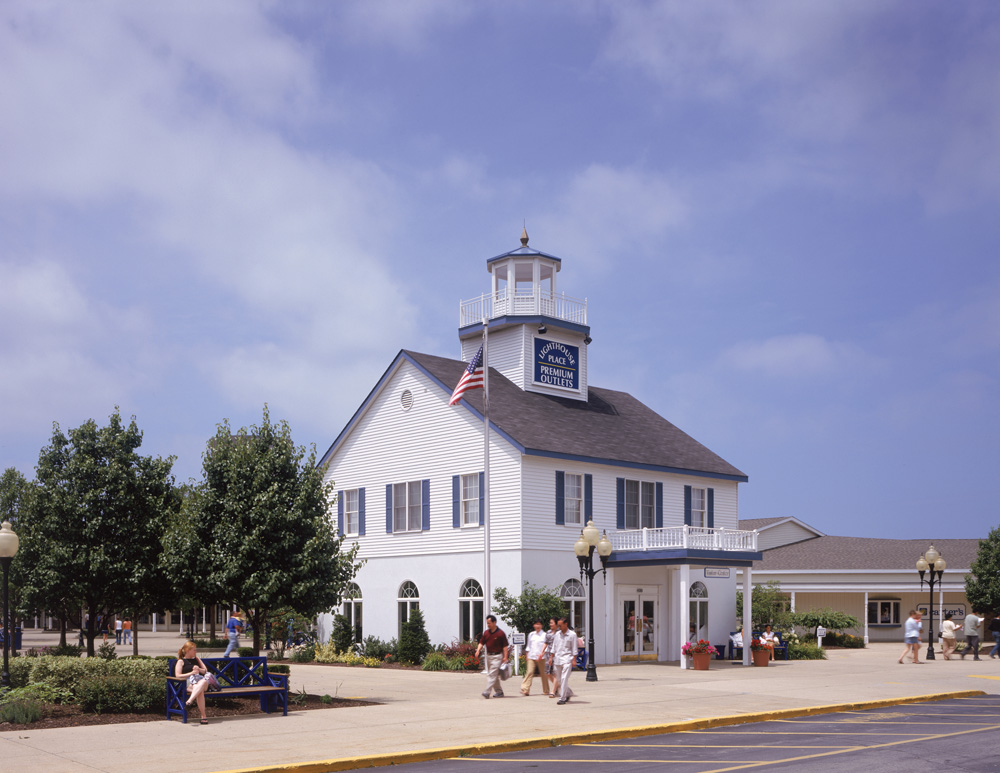 Lighthouse Place Premium Outlets is located in downtown Michigan City, Indiana. From Chicago Take I toll road east to Michigan City, Indiana, exit