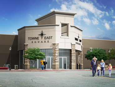 Welcome To Towne East Square A Shopping Center In